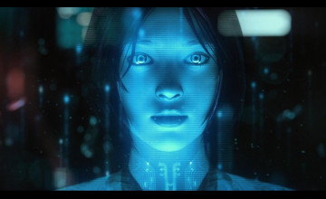 Cortana Desktop Wallpaper