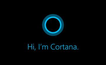 Cortana Logo Wallpaper