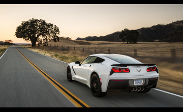 Corvette 1920 x 1080 Wallpaper