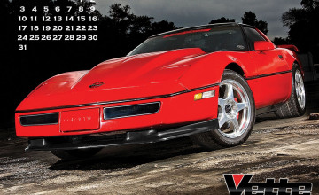 Corvette Museum Wallpaper Calendar