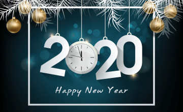Countdown New Year 2020 Wallpapers