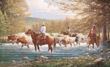 Country Western Wallpaper Border