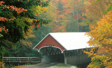 Covered Bridges Wallpaper