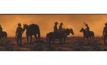 Cowboy Wallpaper Border