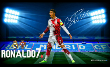 CR7 Wallpaper Real Madrid