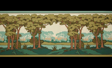 Free download wallpaper border lion and dove frieze by - Bradbury and bradbury frieze ...
