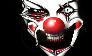 Creepy Clown Wallpaper