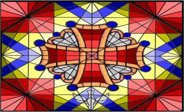 Criss Cross Christian Wallpaper
