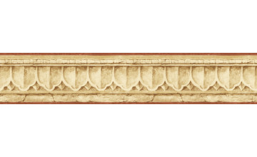 Crown Molding Border Wallpaper