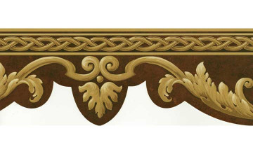 Crown Moulding Wallpaper Border