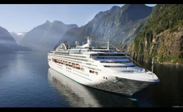 Cruise Ship Desktop Wallpaper