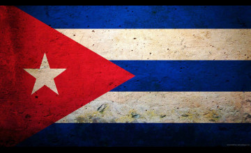 Cuban Flag Wallpaper