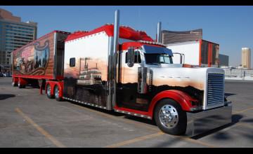 Custom Semi Truck Wallpaper