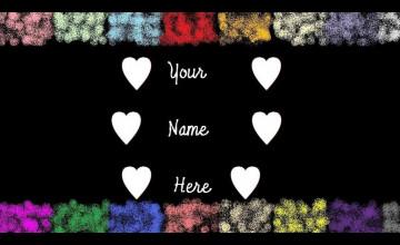 Customize Name Wallpaper