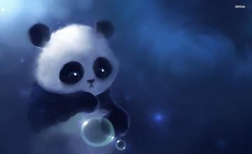 Cute Baby Panda Wallpaper