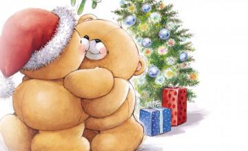 Cute Cartoon Christmas Wallpaper