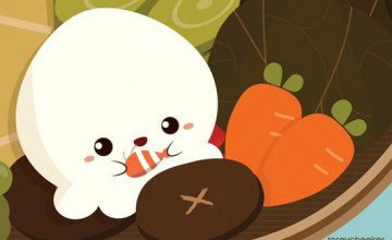 Cute Cartoon Food Wallpapers