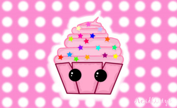 Cute Cupcake Wallpapers