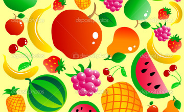 Cute Fruit Wallpaper