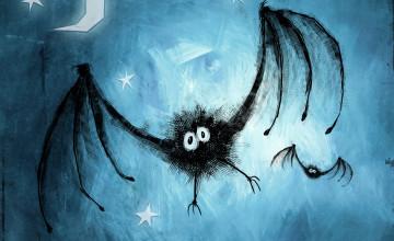 Cute Halloween Vampire Wallpaper
