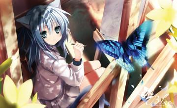 Cute Neko Anime Wallpaper