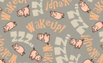 Cute Pig Wallpapers for iPad