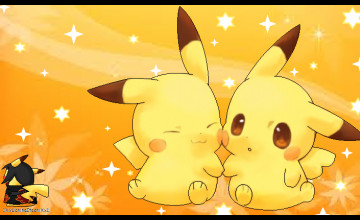 Cute Pikachu Wallpapers