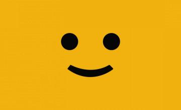 Cute Smiley Face Wallpaper