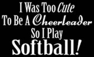 Cute Softball Wallpapers