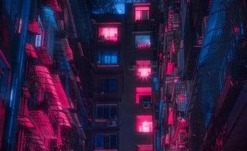 Cyberpunk Background