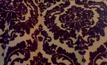 Damask Velvet Wallpaper