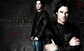 Damon Salvatore Vampire Diaries Wallpaper
