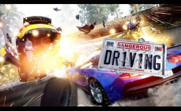 Dangerous Driving Game Wallpapers