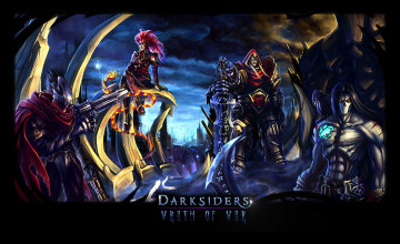Darksiders Four Horsemen Wallpaper