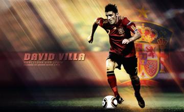 David Villa Wallpaper 2015