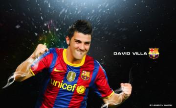 David Villa Wallpaper