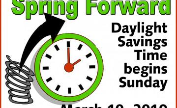Daylight Saving 2019 Wallpapers
