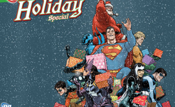 DC Comics Christmas Wallpapers