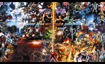 DC Marvel Wallpaper