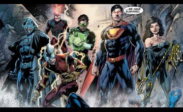 DC New 52 Wallpaper