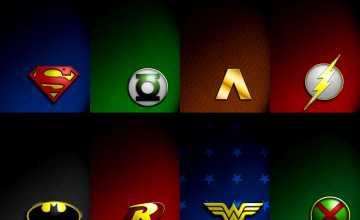 DC Superheroes Wallpaper