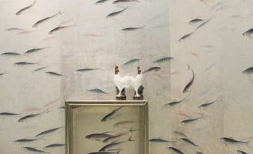 De Gournay Fish Wallpaper