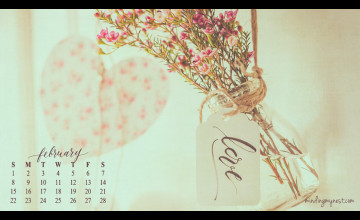 Desktop Wallpaper Calendar February 2015