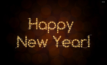Desktop Wallpaper Happy New Year