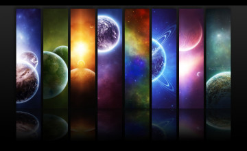 Desktop Wallpaper Planets