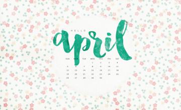 Desktop Wallpapers Calendar April 2016
