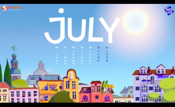 Desktop Wallpapers Calendar July 2016