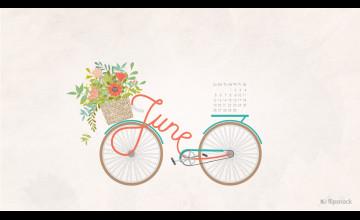 Desktop Wallpapers Calendar June 2016