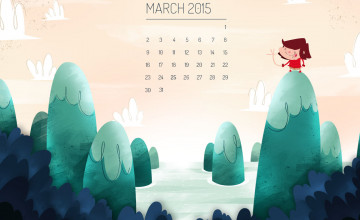 Desktop Wallpapers Calendar March 2015