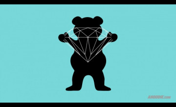 Diamond Grizzly Wallpaper